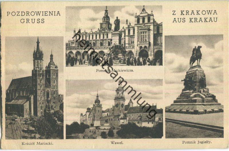 Krakow - Krakau - Wawel - Kosciol Mariacki - Feldpost