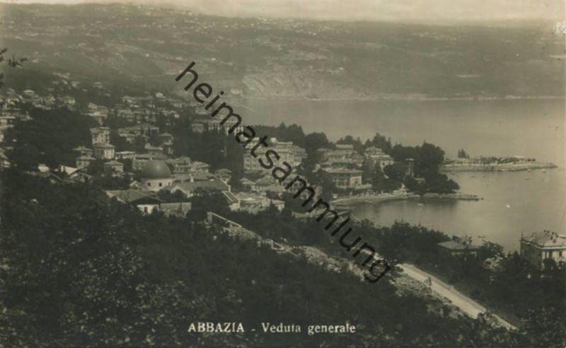 Abbazia - Opatija - Foto-AK