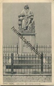 Dinkelsbühl - Christoph von Schmid-Denkmal - Verlag Gebr. Metz Tübingen