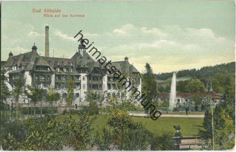 Bad Altheide - Kurhaus - Verlag Bruno Hiller Glatz