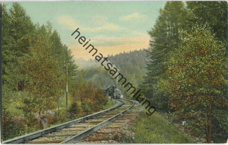 Bad Altheide - Höllenthal - Eisenbahn - Verlag Bruno Hiller Glatz