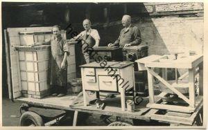 Berlin - Werbewagen der Charlottenburger Töpferinnung zur 250 Jahrfeier Charlottenburgs 15. Juni 1955 - Foto-AK