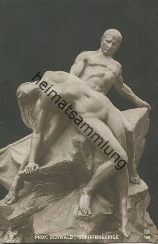 Prof. Berwald - Schiffbrüchige - Skulptur