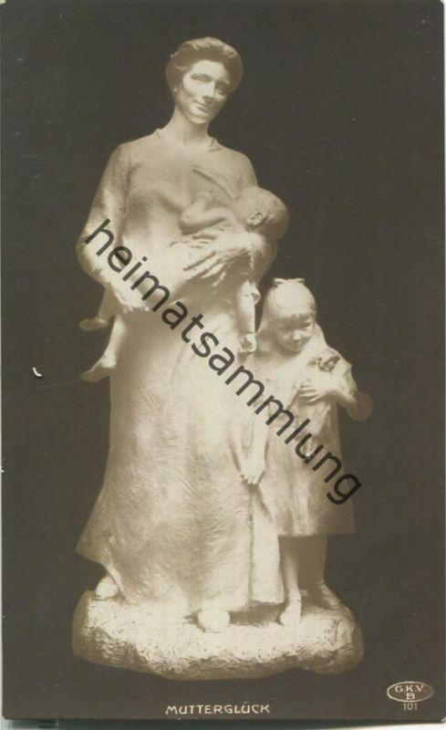 Mutterglück - Skulptur - Verlag Graphische Kunst- u. Verlagsanstalt Berlin