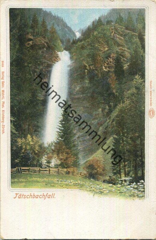 Tätschbachfall - Verlag Louis Glaser Leipzig ca. 1900
