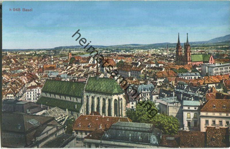 Basel - Edition Photoglob-Wehrli-Vouga AG Zürich