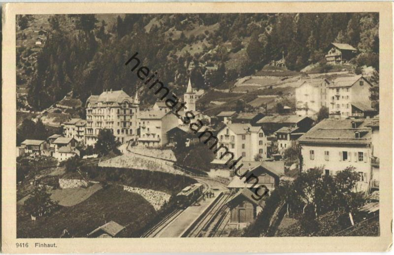 Finhaut - Edition Phototypie Co. Neuchatel