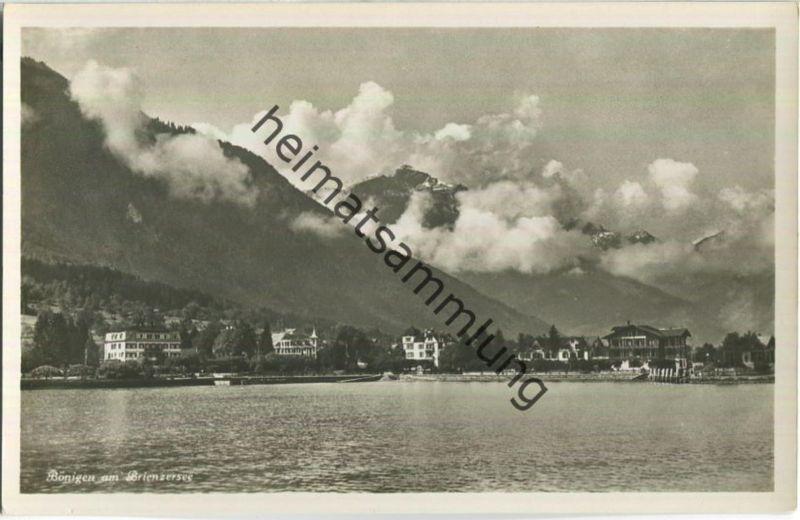 Bönigen am Brienzersee - Edition Photoglob Zürich 30er Jahre