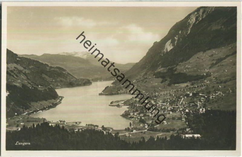 Lungern - Foto-Ansichtskarte - Edition Photoglob Zürich 30er Jahre