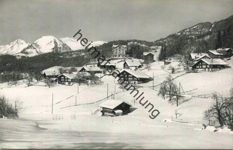 Reuti Hasliberg - Foto-AK - Verlag R. Würgler Meiringen gel. 1971