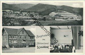 Bad Wildungen - Bergfreiheit - Gasthaus Urfftal - Danz und Brockmeyer - Verlag Photo Bachmann Bad Wildungen