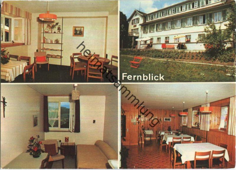 Teufen - Hotel Pension Fernblick - Verlag Foto-Gross St. Gallen