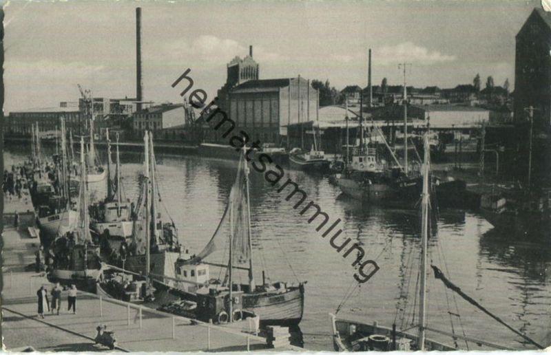 Neustadt in Holstein - Hafen - Verlag Ferd. Lagerbauer & Co. Hamburg