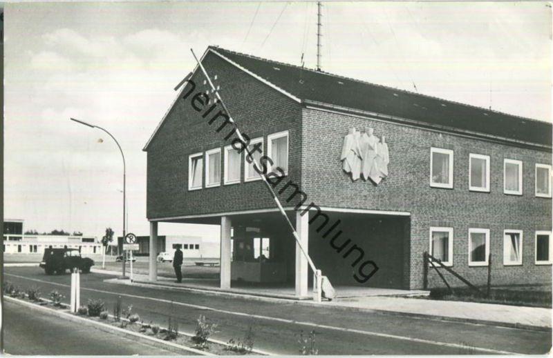 Uelzen-Hainberg - BGS-Unterkunft - Foto-Ansichtskarte - Verlag Erwin Neu Uelzen