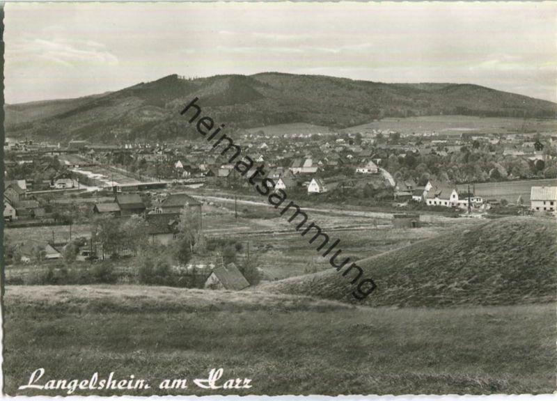 Langelsheim - Foto-Ansichtskarte - Verlag Kurt Lorenz Goslar