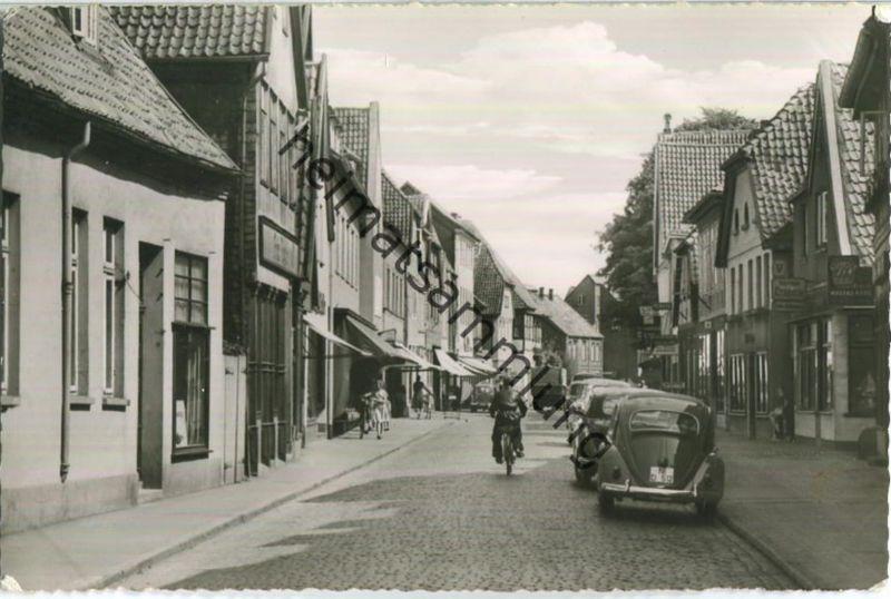 Nienburg - Georg-Straße - Foto-Ansichtskarte - Verlag Schöning & Co. Lübeck