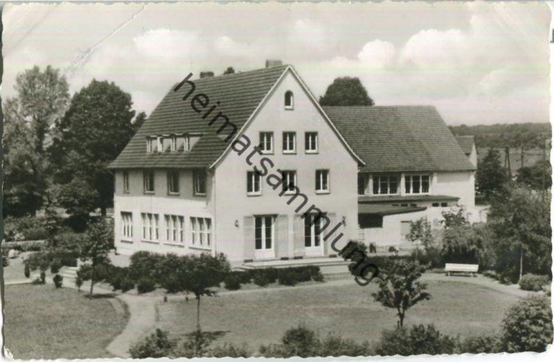 Langelsheim - Jugend- und Sportheim - Foto-Ansichtskarte - Verlag Bildarchiv Stadt Langelsheim