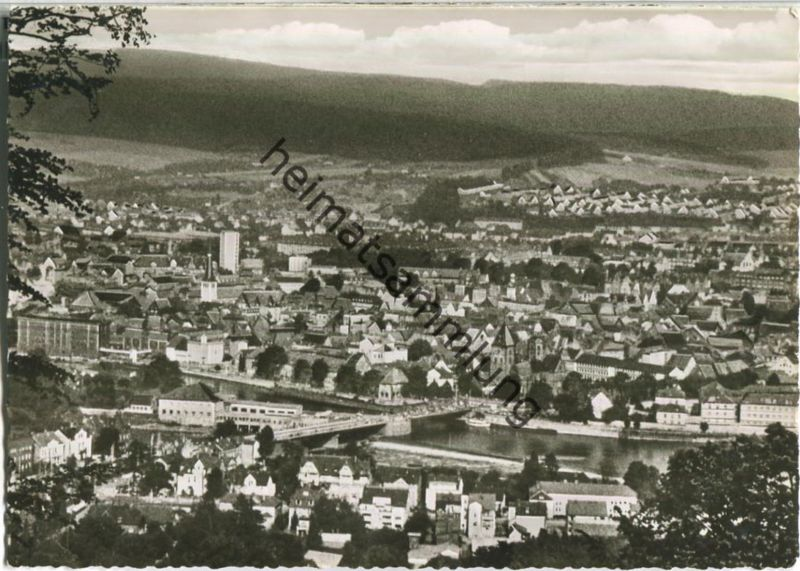 Hameln - Blick vom Klüt - Foto-Ansichtskarte - Verlag Lederbogen Goslar