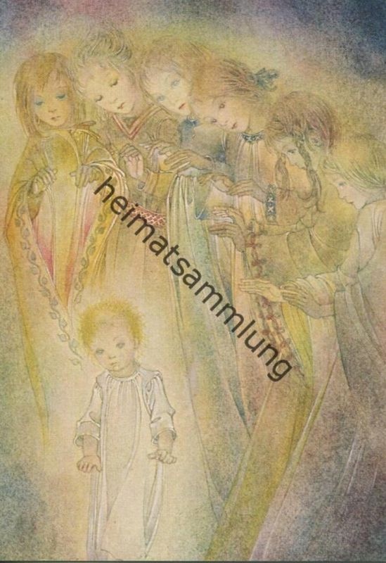 Sulamith Wülfing - Das Kind - Serie 58 Bild 1 - Sulamith Wülfing-Verlag Wuppertal-Elberfeld 1972