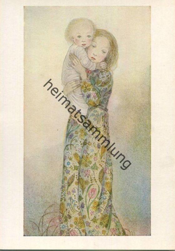 Sulamith Wülfing - Die junge Mutter - Serie 57 Bild 1 - Sulamith Wülfing-Verlag Wuppertal-Elberfeld 1971