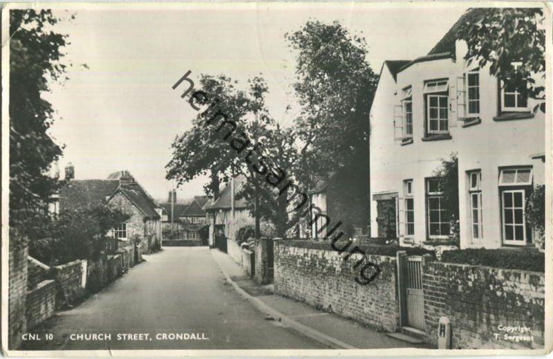 Crondall - Church Street - Foto-Ansichtskarte