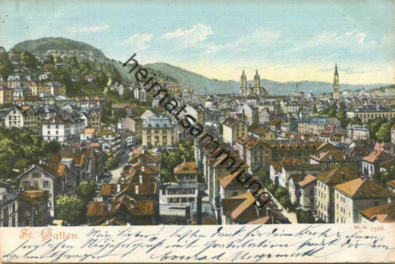 St. Gallen gel. 1903