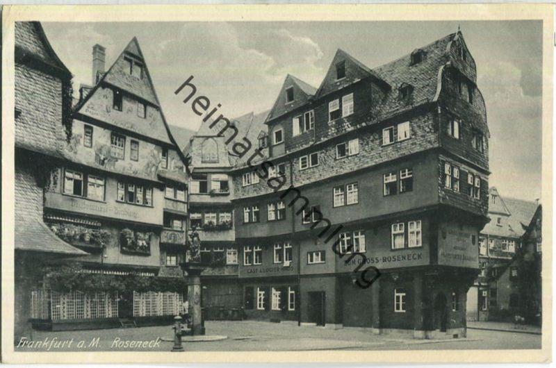 Frankfurt - Roseneck - Verlag Jacobs Frankfurt