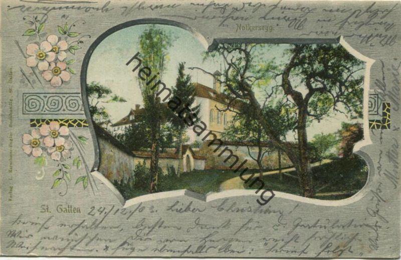 St. Gallen - Notkersegg - Verlag L. Kirschner-Engler St. Gallen gel. 1903
