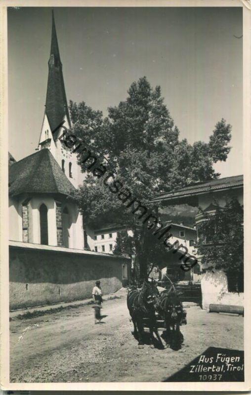 Fügen - Zillertal - Foto-Ansichtskarte - Verlag E. Stockhammer Hall