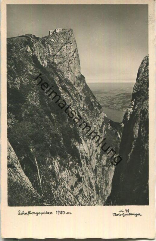 Schafbergspitze - Foto-Ansichtskarte - Verlag Photo Gastberger St. Wolfgang