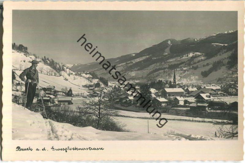 Bruck an der Grossglocknerstrasse - Foto-Ansichtskarte - Verlag Kaufhaus Peter Lederer Bruck 40er Jahre