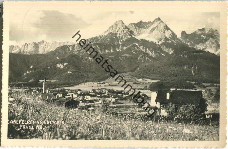 Saalfelden am Steinernen Meer - Foto-Ansichtskarte - Verlag Adolf Wirthmiller Saalfelden