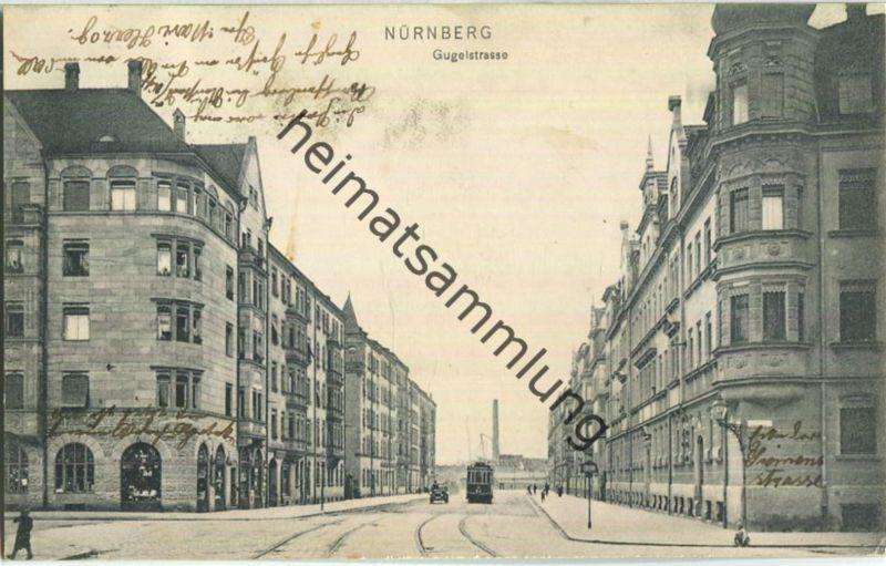 Nürnberg - Gugelstrasse - Verlag Ernst Schäffer Nürnberg