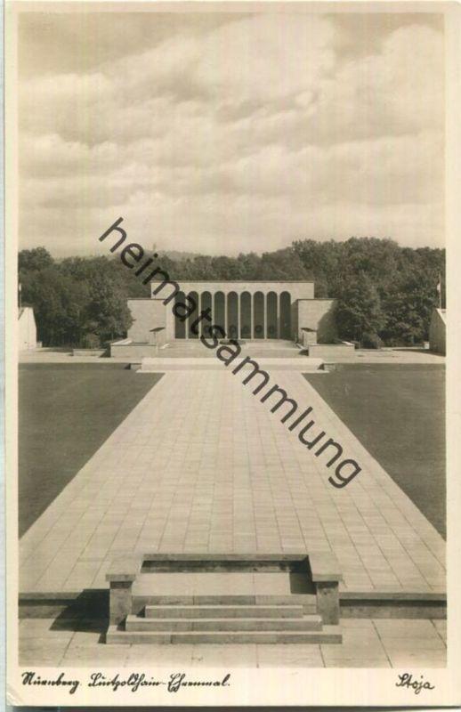Nürnberg - Luitpoldhain-Ehrenmal - Foto-Ansichtskarte - Stoja-Verlag Paul Janke Nürnberg 30er Jahre
