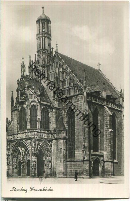 Nürnberg - Frauenkirche - S. Soldan 'sche Verlagsbuchhandlung (A. Zemsch) Nürnberg