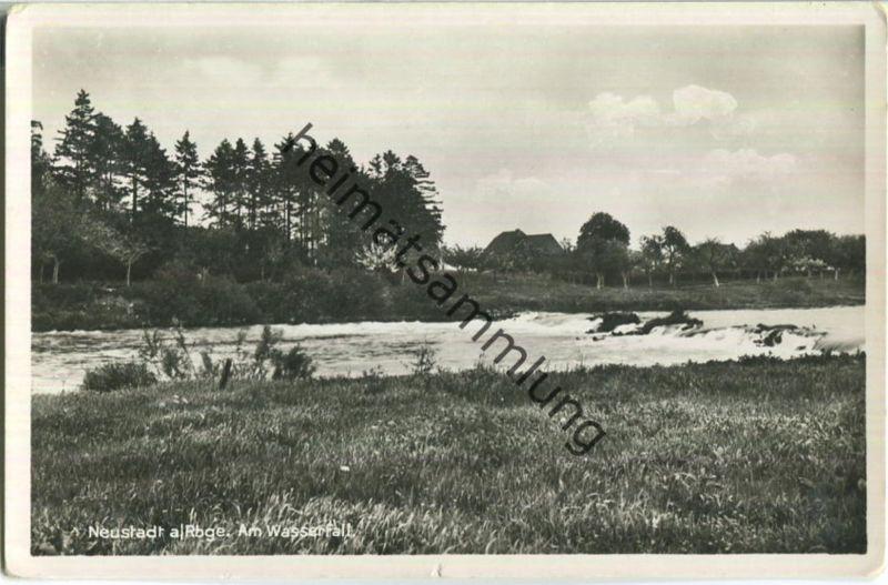Neustadt am Rübenberge - Am Wasserfall - Verlag W. Sicius Neustadt a. Rbge. 30er Jahre