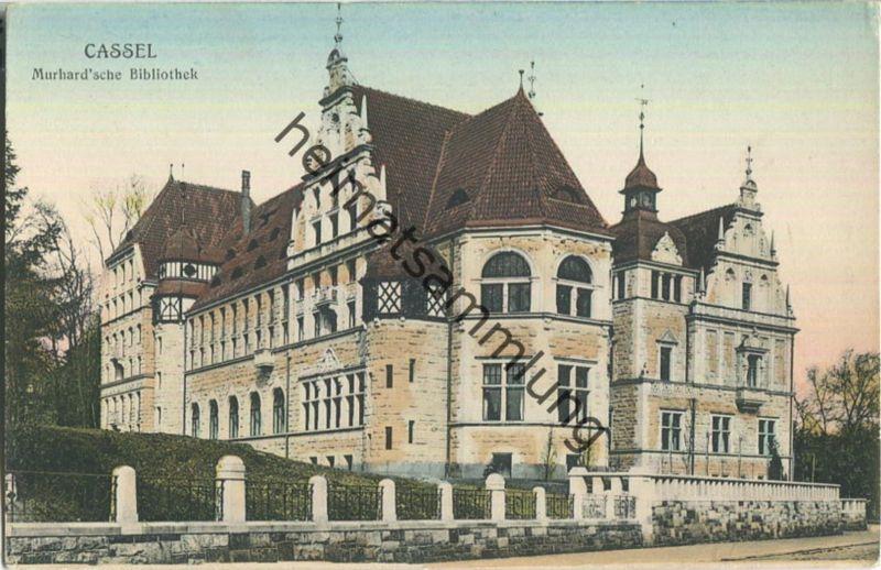 Cassel - Murhard 'sche Bibliothek - Verlag A. J. Bellson Cassel