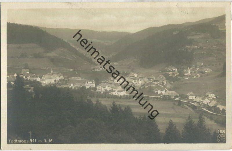 Todtmoos - Foto-Ansichtskarte 20er Jahre - Verlag B. Jordan Todtmoos