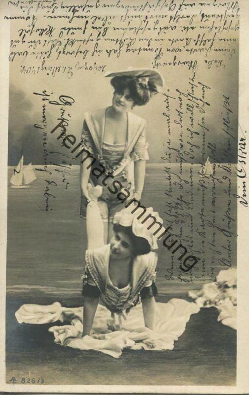 Bademode - Strandmodel gel. 1904