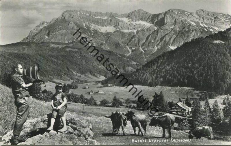 Eigenthal - Foto-AK - Verlag Globetrotter Luzern gel. 1965