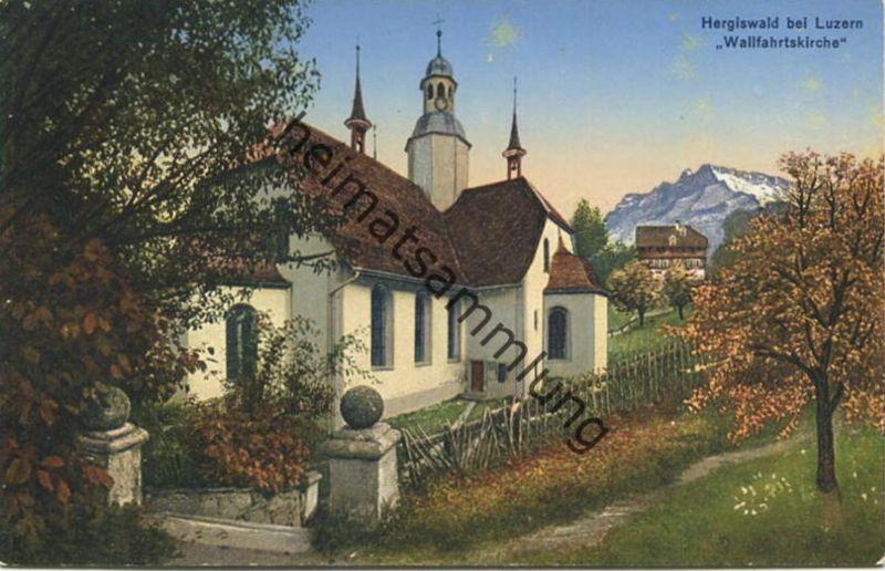 Obernau - Hergiswald - Wallfahrtskirche - Verlag Jos. Höltschi Luzern