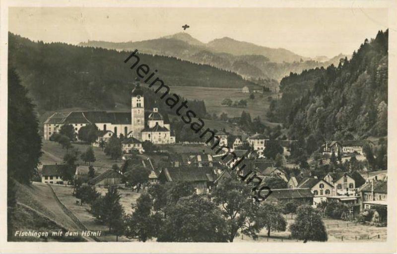 Fischingen mit dem Hörnli - Foto-AK - Edition Photoglob Zürich - gel. 1921