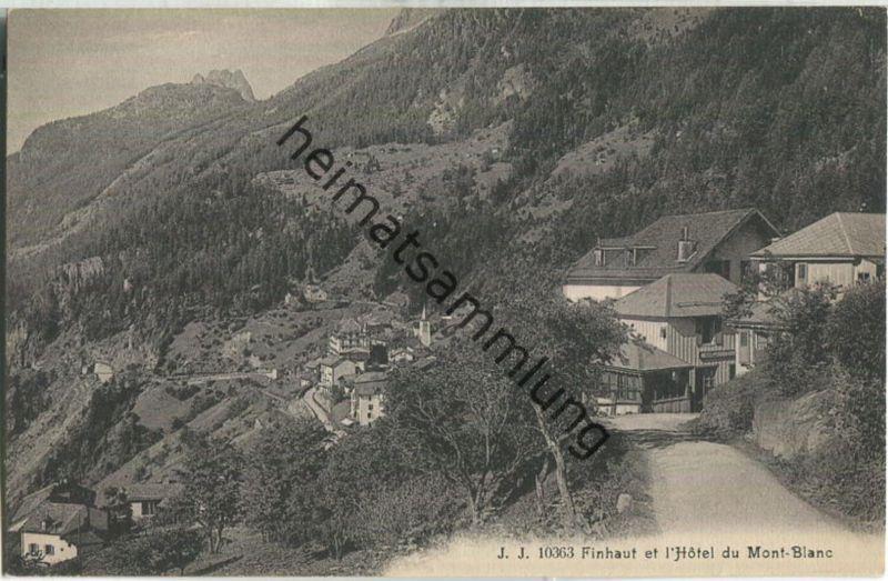 Finhaut et l' Hotel du Mont-Blanc - Edition Jullien freres Geneve