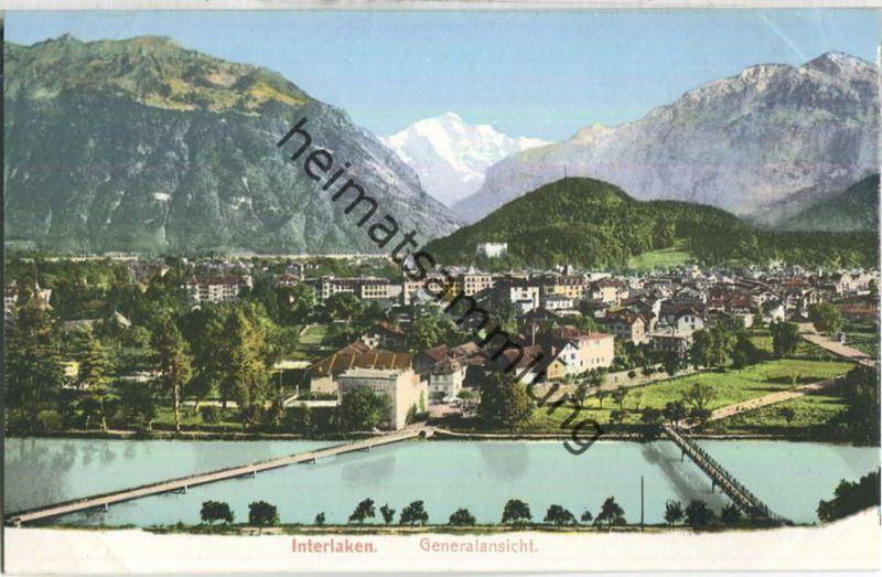 Interlaken - Generalansicht - Verlag H. Gabler Interlaken
