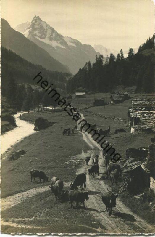 Mottee près Zinal - le Besso - Foto-AK - Verlag Gyger Adelboden