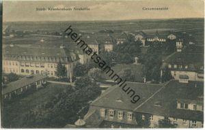 Berlin-Neukölln - Städt. Krankenhaus Neukölln - Gesamtansicht - Verlag J. Goldiner Berlin 30er Jahre