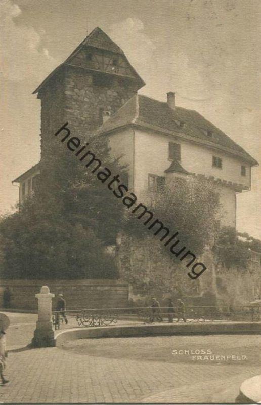Frauenfeld - Schloss - Verlag Carl Künzli-Tobler Zürich gel. 1920