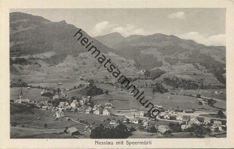 Nesslau mit Speermürli - Edition Photoglob Zürich