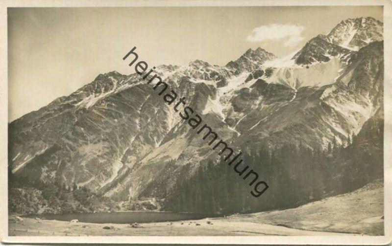 Golzerenseeli und Oberalpstock - Foto-AK - Verlag J. Gaberell Thalwil