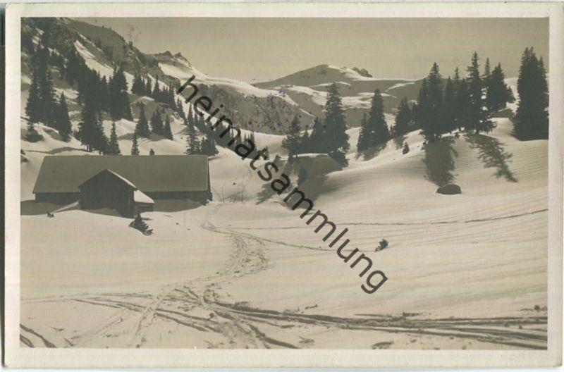 Oberberg - Molseralp - Foto-Ansichtskarte - Verlag J. Gaberell Thalwil
